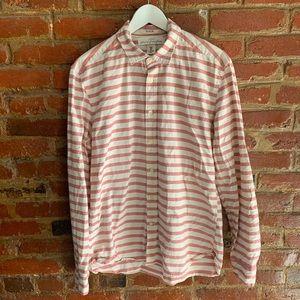 3/$20 H&M LOGG Button Down Striped Cotton Shirt